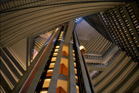 Atrium of Atlanta Marriott Marquis